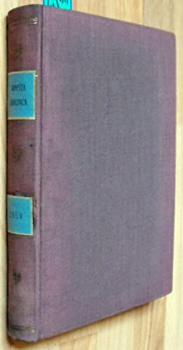 RIVISTA ARALDICA - Anno XLVIII - 1950: Direttore Responsabile Conte