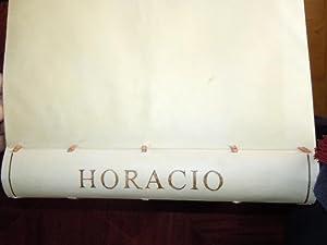 Q. HORACIO FLACCO poeta lyrico latino. Sus: Horacio