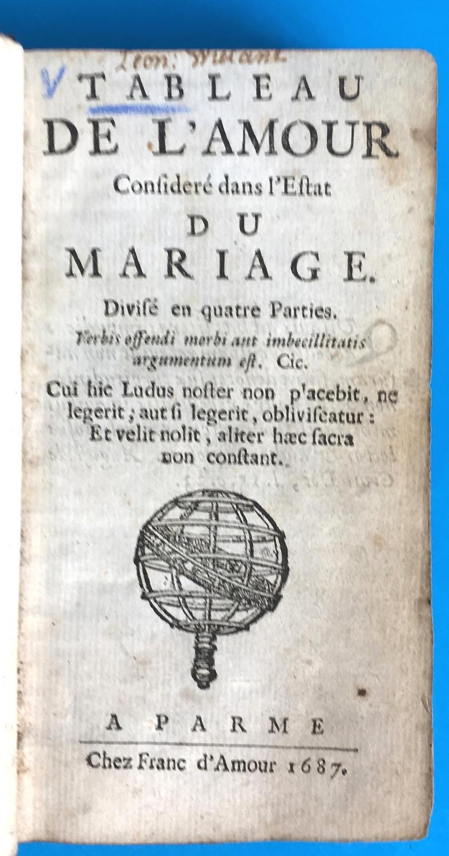 Tableau De Lamour Considéré Dans Lestat Du