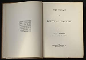 The Science of Political Economy, by Henry: George, Henry (1839-1897)