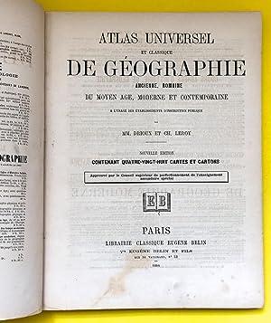Atlas universel et classique de géographie ancienne,: Drioux, Claude-Joseph (1820-1898)