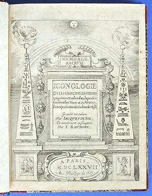 Iconologie, ou Nouvelle explication de plusieurs images,: Ripa, Cesare (1560-1645)
