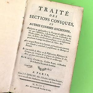 Traité des sections coniques, et autres courbes: La Chapelle, Jean-Baptiste