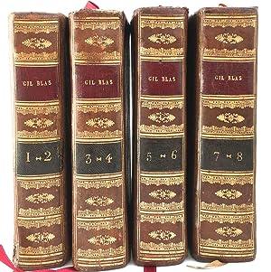 Histoire de Gil Blas de Santillane. Par: Lesage, Alain-René (1668-1747)