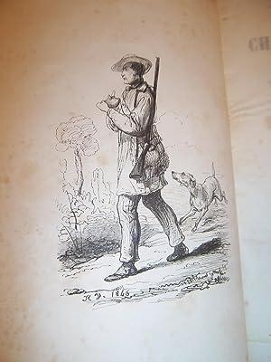 LE CHASSEUR RUSTIQUE, contenant : la théorie: HOUDETOT Adolphe d'