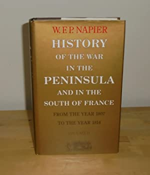 History of the War in the Peninsula: Napier, W.F.P.