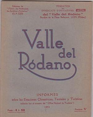El Valle del Ródano: FEDERACION DE LOS SINDICATOS DE INICIATIVAS