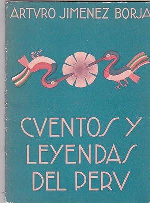 Cuentos y leyendas del Perú: JIMENEZ BORJA, Arturo