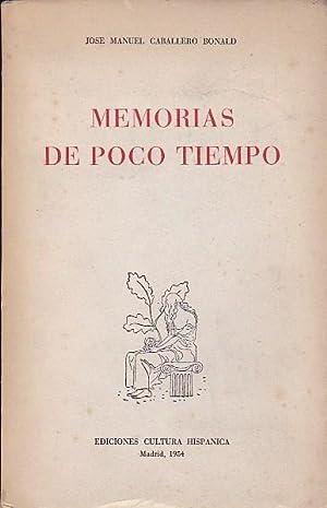 Memorias de poco tiempo: CABALLERO BONALD, José Manuel