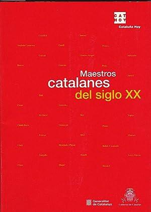 Maestros catalanes del siglo XX. De Gaudí: GARCIA, Josep Miquel