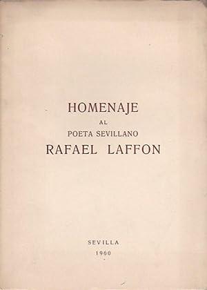 Homenaje al poeta sevillano Rafael Laffon: VARIOS AUTORES