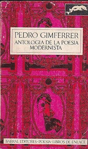 Antología de la poesía modernista: GIMFERRER, Pedro