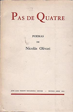 Pas de Quatre: OLIVARI, Nicolás