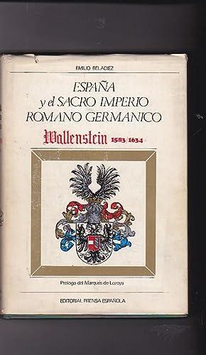 España y el Sacro Imperio Romano Germánico. Wallenstein (1583-1634): BELADIEZ, Emilio