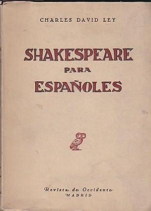 Shakespeare para españoles: DAVID LEY, Charles