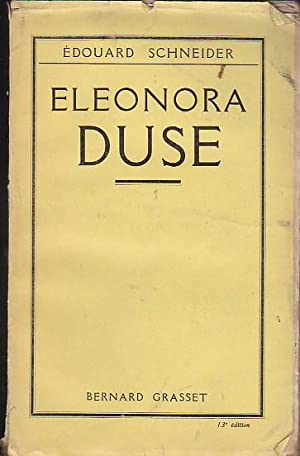Eleonora Duse: SCHNEIDER, Edouard