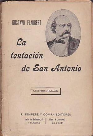 La tentación de San Antonio: FLAUBERT, Gustavo