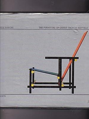 The furniture of Gerrit Thomas Rietveld: BARONI, Daniele