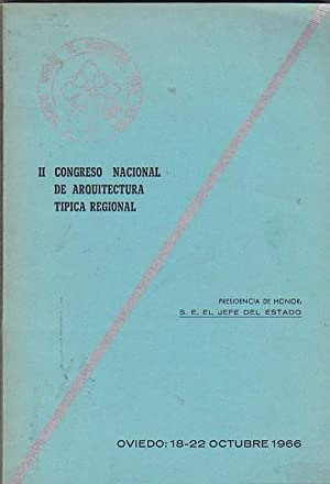 II Congreso Nacional de Arquitectura Típica Regional