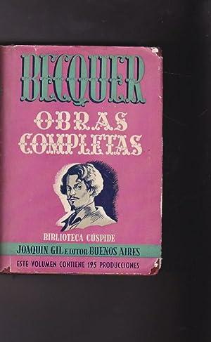 Obras completas: BECQUER, Gustavo A.