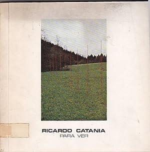Ricardo Catania. Para ver: CATALOGO