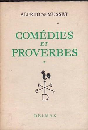 Comédies et proverbes: MUSSET, Alfred de