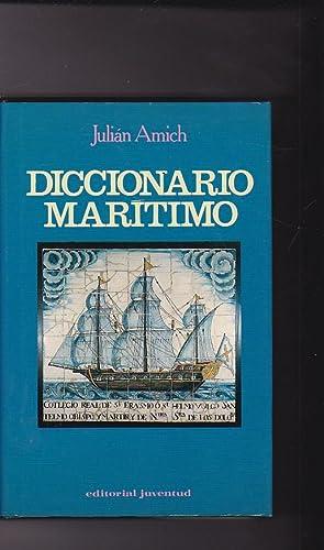 Diccionario marítimo: AMICH, Julián