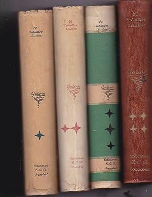 Galeria. 4 volúmenes: CABALLERO AUDAZ