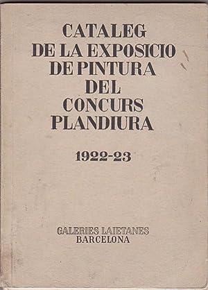 Cataleg de la exposicio de pintura del concurs plandiura 1922-23: DIDAS, E.