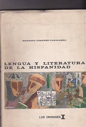 Lengua y literatura de la hispanidad en textos pedagógicos. (Para su enseñanza en ...