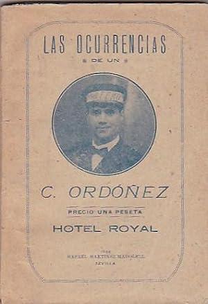 Las ocurrencias de un portero: ORDOÑEZ, Candido