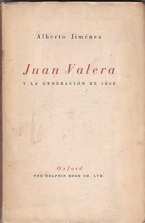 Juan Valera y la generación de 1868: JIMENEZ, Alberto