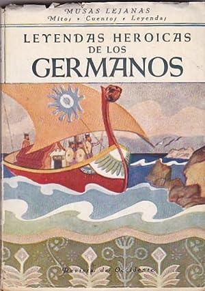 Leyendas heroicas de los germanos: WALTERS, P. /