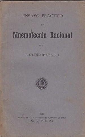 Ensayo práctico de Mnemotecnia Racional: BAZTAN, Cesareo