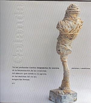 Miguel Galanda. Pinturas y esculturas despojadas de: GAMONEDA, Antonio /