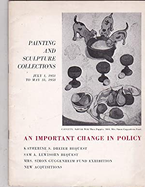 Painting and sculpture collections July 1, 1951: CATÁLOGO