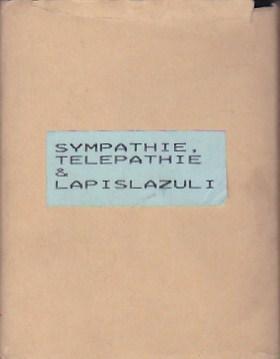 Sympathie, telepathie & lapislazuli: CATÁLOGO