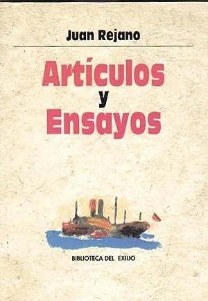 Artículos y ensayos: REJANO, Juan