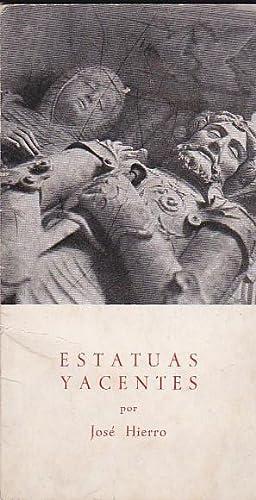 Estatuas yacentes: HIERRO, José