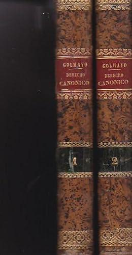 Instituciones del Derecho Canonico: GOLMAYO, Pedro Benito