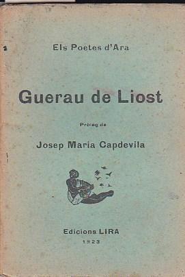 Guerau de Liost: ELS POETES D ARA