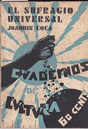 El sufragio universal: COCA, Joaquín