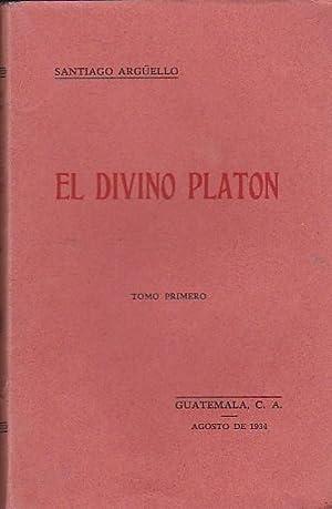 El divino Platón: ARGUELLO, Santiago
