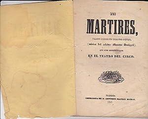Los mártires, drama lírico en cuantro actos.: MAESTRO DONICCETI (Música de)