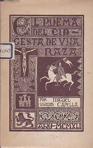 El poema del Cid. Gesta de una raza: CAPELLA, Miguel