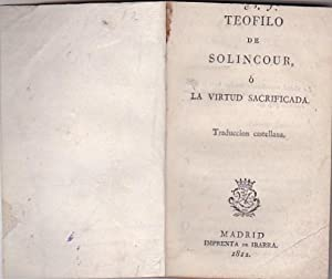 Teofilo de Solincour, o La virtud sacrificada: BOISARD