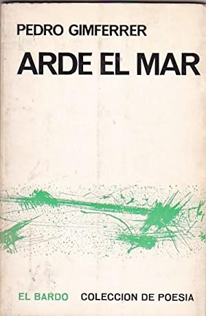 Arde el mar: GIMFERRER, Pedro