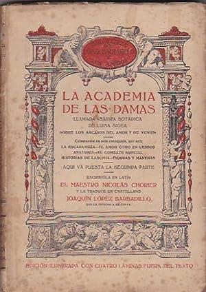La academia de las damas, llamada sátira sotádica de Luisa Sigea sobre los arcanos ...