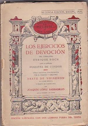 Los ejercicios de devoción del caballero Enrique Roch con la señora Duquesa de Condor...