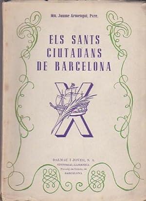 Els sants ciutadans de Barcelona: ARMENGOL, Jaume
